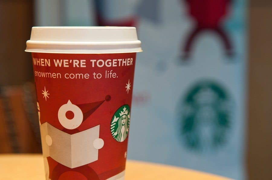 30% Off Holiday Gifts at Starbucks